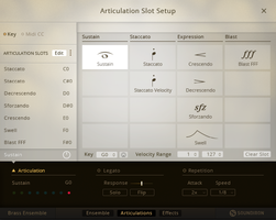 Native Instruments Komplete 11 Ultimate : articulations