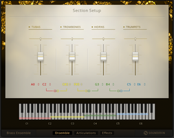 Native Instruments Komplete 11 Ultimate : brass ensemble