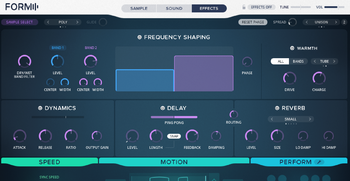 Native Instruments Komplete 11 Ultimate : form effect