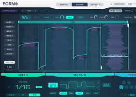 Native Instruments Komplete 11 Ultimate : form motion curves