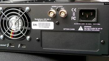 Apogee Symphony I/O Mk II Thunderbolt 8x8+8MP Mk II : Symphony IO Mk II 8×8+8MP 3