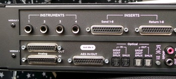 Apogee Symphony I/O Mk II Thunderbolt 8x8+8MP Mk II : Symphony IO Mk II 8×8+8MP 4