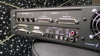 Apogee Symphony I/O Mk II Thunderbolt 8x8+8MP Mk II : Symphony IO Mk II 8×8+8MP 1