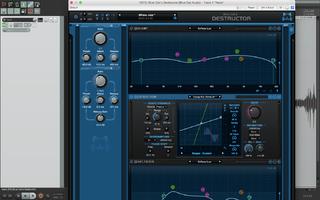 Blue Cat Audio Destructor : LaptopScreen