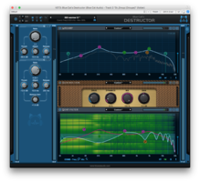 Blue Cat Audio Destructor : Spectrum