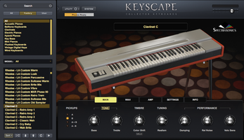 Spectrasonics Keyscape : Search Clavinet