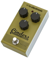 TC Electronic Cinders Overdrive : cinders overdrive persp hires