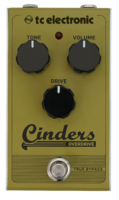 TC Electronic Cinders Overdrive : cinders overdrive front hires