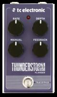 TC Electronic Thunderstorm Flanger : thunderstorm flanger front hires