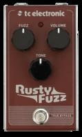 TC Electronic Rusty Fuzz : rusty fuzz front hires 02