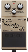 Boss AD-2 Acoustic Preamp : ad 2 F gal