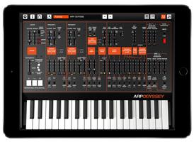 ARP ODYSSEi iPad Air2 bk 1