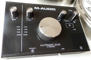 M-Audio M-Track 2x2 : M Audio M Track 2X2 1
