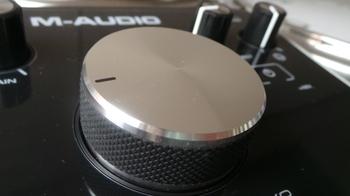 M-Audio M-Track 2x2 : M Audio M Track 2X2 5.JPG