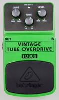 Behringer Vintage Tube Overdrive TO800 : Behringer TO800 1