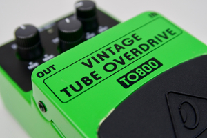 Behringer Vintage Tube Overdrive TO800 : Behringer TO800 5