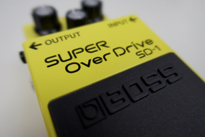 Boss SD-1 SUPER OverDrive : Boss Super OverDrive SD 1 1
