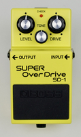 Boss SD-1 SUPER OverDrive : Boss Super OverDrive SD 1 2