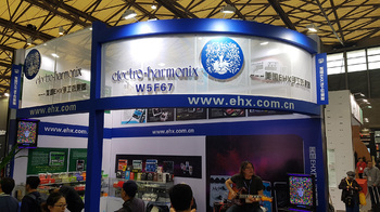 EHX Booth