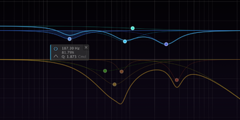 FabFilter Pro-R : curves