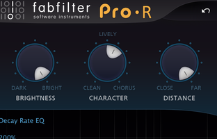 FabFilter Pro-R : brightcharacter