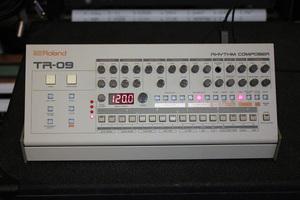 Roland TR-09 : face