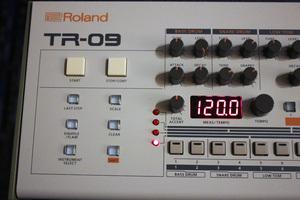 Roland TR-09 : panel1