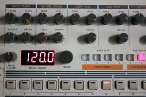 Roland TR-09 : panelzoom