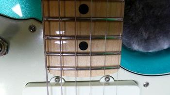 Fender American Professional Jazzmaster : 21 (Alignement Cordes)