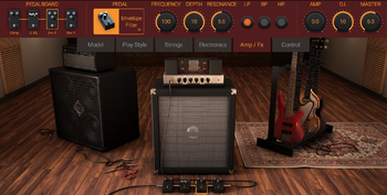 IK Multimedia Modo Bass : ampfx