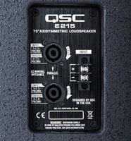 QSC E215 : Q loudspeakers e 215 img heroInputPanel