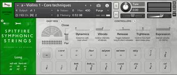 Spitfire Audio Symphonic Strings : Spitfire Audio Symphonic Strings (99880)