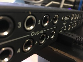 Keith McMillen Instruments K-Mix : K-Mix outputs