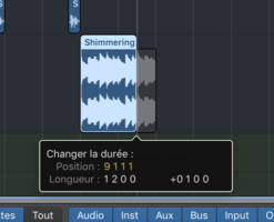 Apple Logic Pro X : Ghost Wave