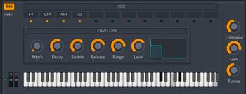 lmdsp Superchord : Mode instrument