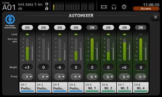 Yamaha TF5 : TF Automixer overview BG