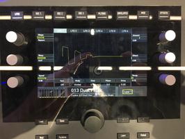 Waldorf Quantum : Quantum Display @ Musikmesse 2017