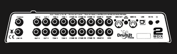 2box DrumIt Three : DrumIt Three Rear