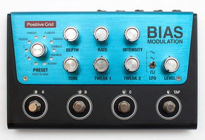 Audio & music gear : positive grid bias modulation