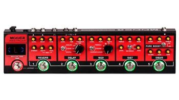 Audio & music gear : mooer red truck
