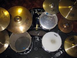 Left Handed drum kit
