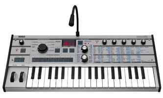 microKorg Platinum with mic