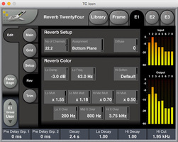 tc electronic reverb twentyfour controls screenshot reverb