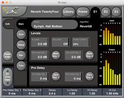 tc electronic reverb twentyfour controls screenshot main