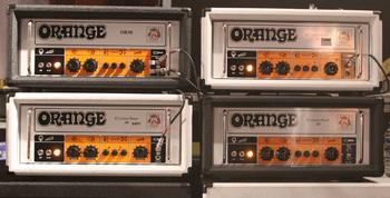 Scott Holiday Orange Amps