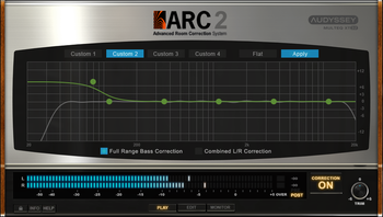 ikc L ARC 25 Correction Custom Target Curve