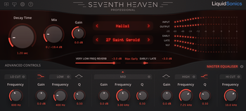 LiquidSonics Seventh Heaven : SHP EQ
