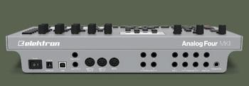 Elektron Analog Four MKII : Analog Four mkII Rear