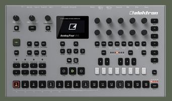 Elektron Analog Four MKII : Analog Four mkII Front