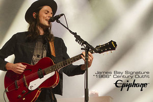 Epiphone Ltd. Ed. James Bay Signature Century Outfit : N 060117C1